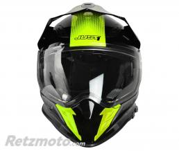 Casque JUST1 J34 Adventure Shape Yellow Neon Gloss taille XL