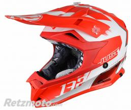 JUST1 Casque JUST1 J32 Pro Kick White/Red Matte taille YM
