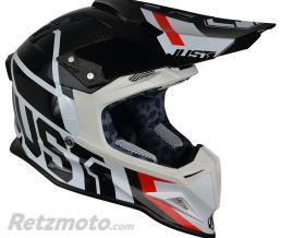 JUST1 Casque JUST1 J12 Unit Black/White taille L