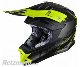 JUST1 Casque JUST1 J32 Pro Kick Yellow/Black/Titanium Matte taille M