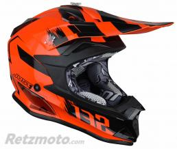 JUST1 Casque JUST1 J32 Pro Kick Orange Gloss taille YM