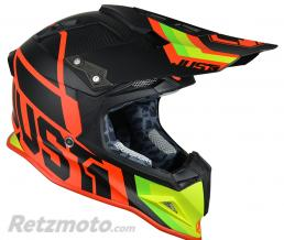 JUST1 Casque JUST1 J12 Unit Red/Lime taille XXL