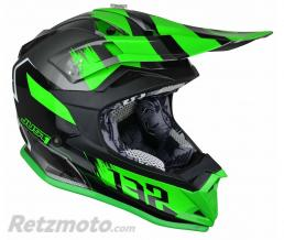 JUST1 Casque JUST1 J32 Pro Kick Green/White/Titanium taille M