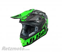JUST1 Casque JUST1 J32 Pro Swat Camo Fluo Green Gloss taille M