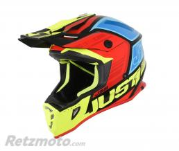 JUST1 Casque JUST1 J38 Blade Black/Yellow/Red/Blue Gloss taille XS
