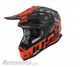JUST1 Casque JUST1 J32 Pro Swat Camo Fluo Orange Gloss taille S