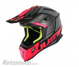 JUST1 Casque JUST1 J38 Blade Fluo Fuxia/Black Matt taille XL