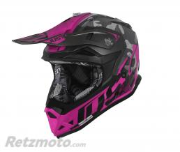JUST1 Casque JUST1 J32 Pro Swat Camo Fluo Pink Gloss taille XL