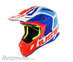 JUST1 Casque JUST1 J38 Blade Blue/Red/White Gloss taille YM