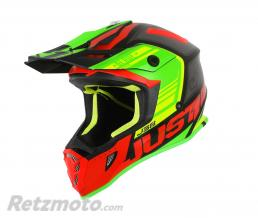 JUST1 Casque JUST1 J38 Blade Red/Lime/Black Matt taille YM