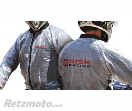 RISK RACING Veste de pluie Risk Racing translucide taille L