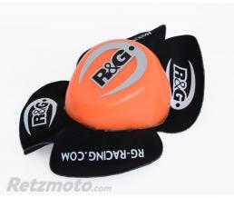 R&G Sliders genou R&G RACING Aero orange