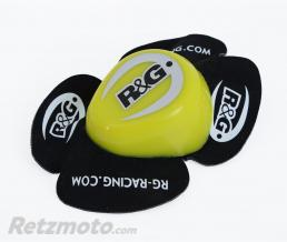 R&G Sliders genou R&G RACING Aero jaune