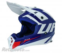 UFO Casque UFO Quiver Ontake bleu/blanc taille L