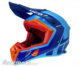 UFO Casque UFO Quiver Shasta bleu/rouge taille XS