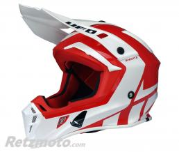 UFO Casque UFO Quiver Shasta rouge/blanc taille S