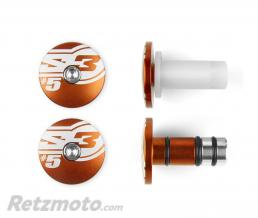 S3 Embouts de guidons S3 End 5 Ø14mm orange