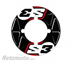 S3 Stickers de couronne S3 38/39/40 dents rouge