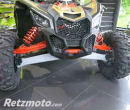 RIVAL Kit protection de triangles avant RIVAL alu Can-Am Maverick X3 XRS