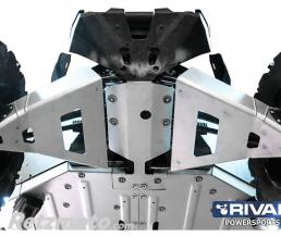 RIVAL Kit protection de triangles avant RIVAL alu Can-Am Maverick X3 XDS