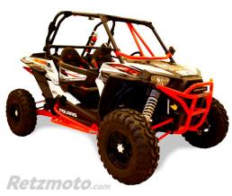 DRAGON FIRE Protection latérale DRAGONFIRE rouge Polaris RZR