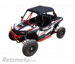 DRAGON FIRE Toit en toile DRAGONFIRE noir Polaris RZR1000 XP
