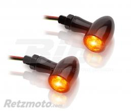 V-PARTS Clignotants LED V-PARTS 12V alu noir