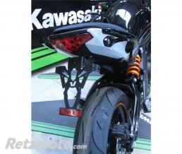 V-PARTS Support de plaque V PARTS noir Kawasaki ER6