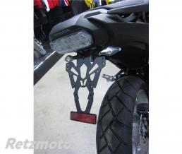 V-PARTS Support de plaque V PARTS noir Honda NC750X