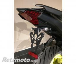 V-PARTS Support de plaque V PARTS noir Yamaha MT-03