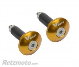 V-PARTS Embout de guidon V-PARTS Ø12-18mm or