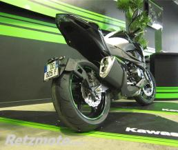ACCESS DESIGN Support de plaque ACCESS DESIGN ras de roue noir Kawasaki Z800