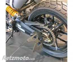 ACCESS DESIGN Support de plaque ACCESS DESIGN latéral noir Ducati Scrambler 1100