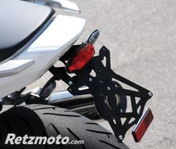 LIGHTECH Support de plaque réglable LIGHTECH noir Honda INTEGRA 700/750