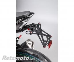 LIGHTECH Support de plaque LIGHTECH noir Kawasaki Z900