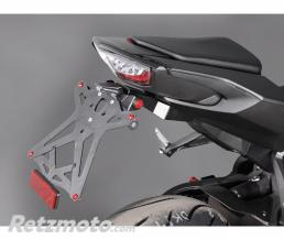 LIGHTECH Support de plaque réglable LIGHTECH noir Honda CBR1000RR