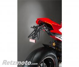 LIGHTECH Support de plaque LIGHTECH réglable noir Ducati Panigale V4