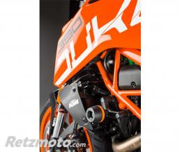LIGHTECH Tampon de protection LIGHTECH noir KTM 390 Duke