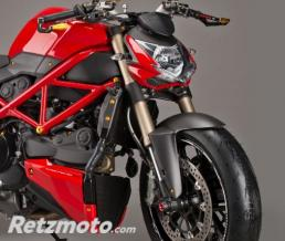 LIGHTECH Garde boue avant LIGHTECH carbone mat Ducati Streetfighter 848