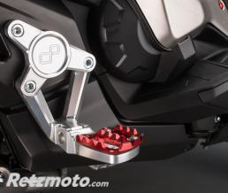 LIGHTECH Commandes reculées LIGHTECH rouge Honda X-ADV