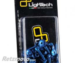 LIGHTECH Kit vis de carénage LIGHTECH Ergal cobalt Yamaha T-Max 500