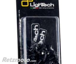 LIGHTECH Kit vis de carénage LIGHTECH Ergal noir Yamaha T-Max 500