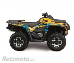 KUTVEK Kit déco KUTVEK Rotor jaune Can-Am Outlander Max test