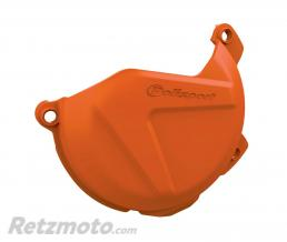 POLISPORT Protection de carter d'embrayage POLISPORT orange KTM SX-F250/350