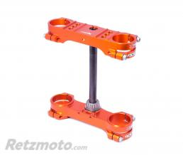 XTRIG Té de fourche XTRIG Rocs Offset Ø22mm orange KTM/Husqvarna