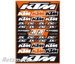 BLACKBIRD Planche de stickers BLACKBIRD KTM