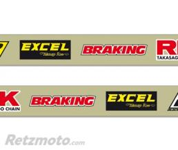 BLACKBIRD Stickers de bras oscillant BLACKBIRD Crystall Suzuki RMZ250/450
