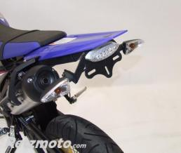 R&G Support de plaque R&G RACING noir Yamaha WR125R/X