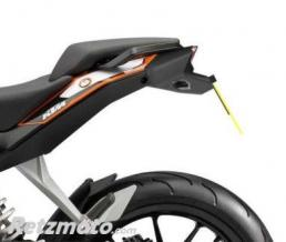 R&G Support de plaque R&G RACING noir KTM Duke 125/200/390