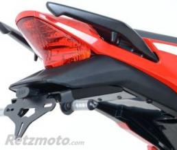 R&G Support de plaque noir R&G RACING Honda CBR300R